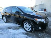 2011 Toyota Venza PREMIUM PKG 4WD CUIR TOIT PANO BAS KM'S ONE OW