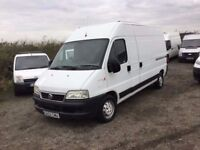 2003 FIAT DUCATO MAXI LONG WHEEKBASE HIGHTOP NEW CLUTCH FITTED CAMBELT CHANGED MOT SUDE DOIR IN VGC