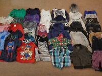 Boys bundle of clothes age 4-5