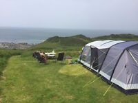 Kampa Croyde 6 Air tent - amazing large tent you can put up in 20 minutes