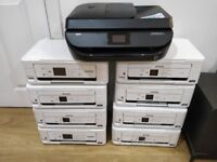 10x Assorted Epson and HP Printers Job Lot