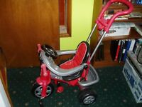 Child Trike Red and Black will suit girl or boy