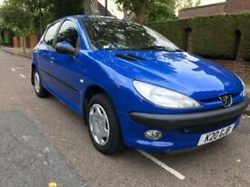 PEUGEOT 206 1.4 LX 5DR *AUTOMATIC* ***26K WARRANTED MILES***GREAT FIRST TIME CAR*