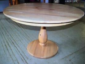 John Lewis solid oak round table