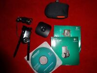 Logitech QuickCam webcam used handful of times