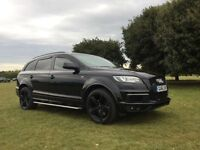 Audi Q7 S Line Fully Loaded ONE OWNER ONLY £17494