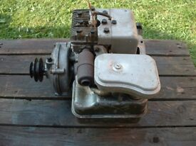 Briggs And Stratton Stationary engine with reduction gearbox