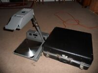 Overhead Proector and case in working order