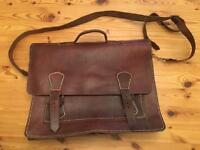 Leather messenger style bag £100
