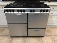 Gas burner with double oven , 8 gas burner and grill