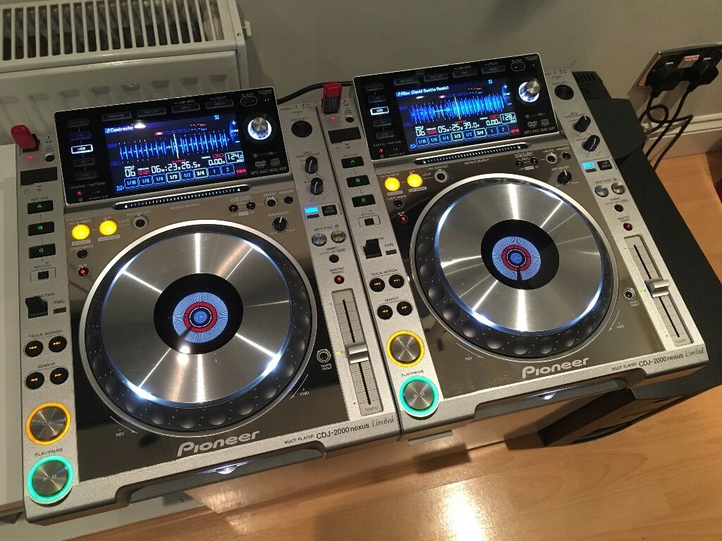pioneer cdj 2000 nexus platinum limited edition dj decks boxed djm 900 nexus xdj plx ddj 1000. Black Bedroom Furniture Sets. Home Design Ideas