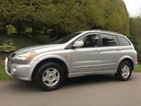 2008 SSANGYONG KYRON 2.0diesel, AUTO! Jeep 4x4