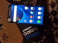 Samsung Galaxy S 7 edge Black 32gb used