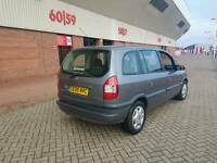 2005 VAUXHALL ZAFIRA 1.6 ELEGANCE, 7 SEATER, IN NICE CONDITION