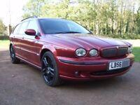 Jaguar X type 2.0 Diesel Estate 2006.