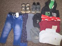 boy bundle of clothes and shoes toys for 1- 2 years mix of new & used things pick up New Cross Gate