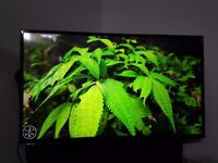"48""Hitachi, smart, led, full hd, built in wifi"