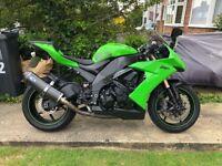 Kawasaki-Ninja ZX10R 2009 1000cc 3 Owners 1 Year MOT 17k Miles