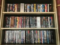 DVD Movies, around 100 for sale