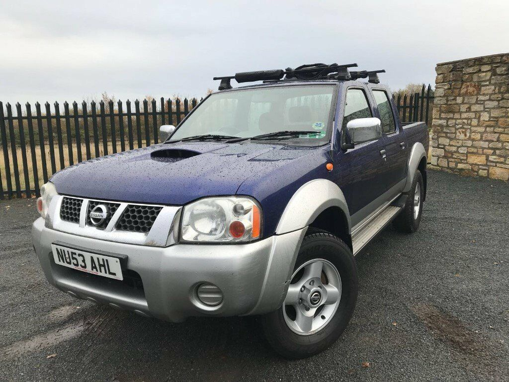 2003 53 nissan navara 4x4 pick up 2 5 diesel november 2018 m o t snow is here in. Black Bedroom Furniture Sets. Home Design Ideas