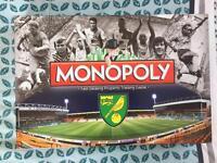 Norwich City Football Club Monopoly - NEW