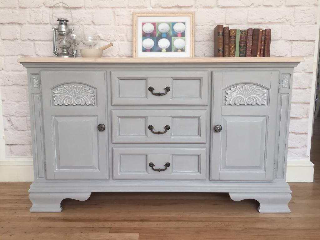 c101b107e5 Gorgeous shabby chic sideboard. Annie Sloan Paris Grey. | in ...