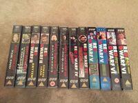 Red Dwarf Complete Series 1 2 3 4 5 6 VHS Job Lot BBC