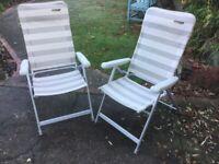 Garden / Caravan Recliner Chairs