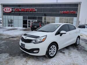 2013 Kia Rio LX+ LOCAL TRADE Low KM Lots of WARRANTY
