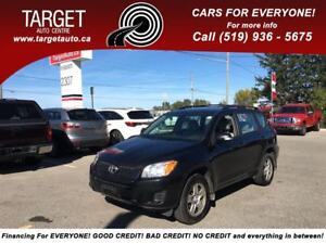 2010 Toyota RAV4 4wd, 4Cyl Great on Gas and More !!!!