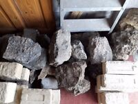 free stones suitable for building rockery