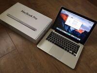 Macbook 13inch apple Mac Pro laptop 512gb SSD hard drive 8gb ram Intel 2.53ghz CPU in original box