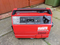 Excellent Honda Ex650 suitcase generator