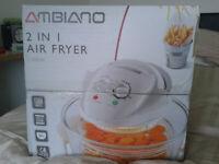 Ambiano Two in One 1300 Watt Air Fryer