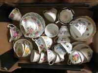 Various vintage china
