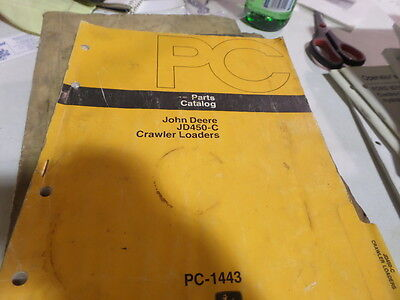 John Deere Jd450-c Crawler Bulldozers Parts Catalog Manual