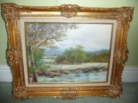 Original Oil Painting by B. Richardson (Great Condition)