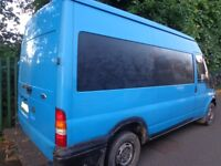 54reg ford transit2.0diesel+tax+solid rear step+towbar good runner DRIVEAWAY DELIVERY OR GOOD EXPORT