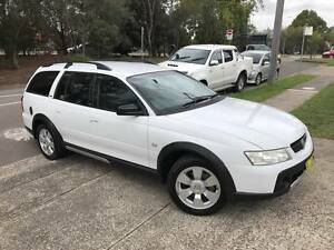 2006 Holden Adventra CX6 4x4 VZ AWD CROSSTRAC Low Ks Long Rego Sutherland Sutherland Area Preview
