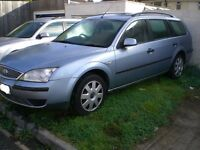 55 PLATE MONDEO LX TDCI ESTATE - FOR BREAKING/SPARES