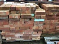 Reclaimed Pinhole bricks