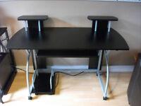 Black Computer Desk.
