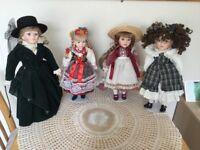 Porcelain Decorative Dolls