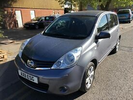 2011 AUTOMATIC NISSAN NOTE .