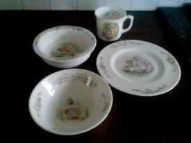 Childrens dinner/breakfast set