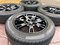 "Genuine 18"" Range Rover Evoque Refurbished Alloy Wheels & Tyres Freelander 2"