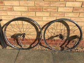 Campagnolo Zonda C17 Road bike/ racing bike Wheelset (Rear Hub broken)