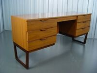Vintage Europa Furniture Dressing Table Mid Century