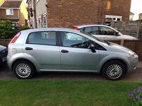 Fiat Punto Grande Active 1.2, 5dr silver, MOT to September