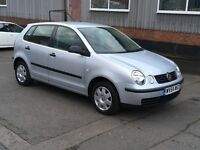 VOLKSWAGEN POLO 1.4 DIESEL TDI SE 2004 54 REG TWO OWNER'S LOW TAX GROUP ANY P/X WELCOME